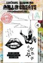 AALL and Create A6 Clear Stamp Set #5 by Olga Heldwein